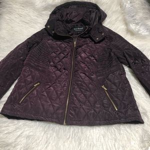 NEW JACKET JASON MAXWELL EGGPLANT XL